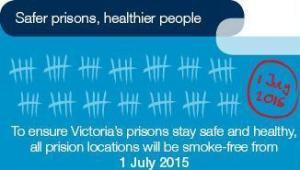 Smoke Free prisons Victoria